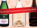 collage of Best of Show wines; Best Value and Spectacular rosé